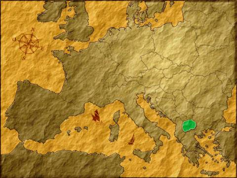 La Macédoine en Europe