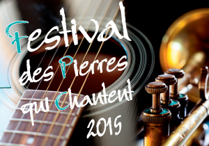 Affiche Festival Pierre qui chantent